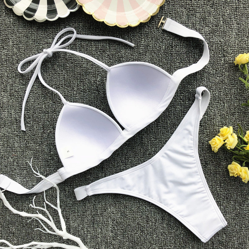 New Sexy Women Push Up Bikini Sets Bra Padded Swimwear