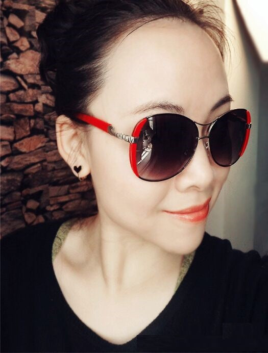 High Quality Women Sunglasses Vintage With Box - Sheseelady