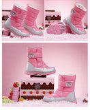 Water-Proof Snow Long Girls Shoes