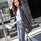 Vintage High Quality Autumn Coat For Office Lady