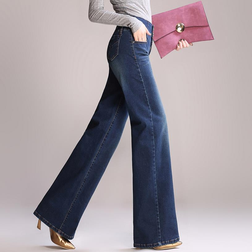 High Waist Wide Leg Jeans Loose Jeans - Sheseelady