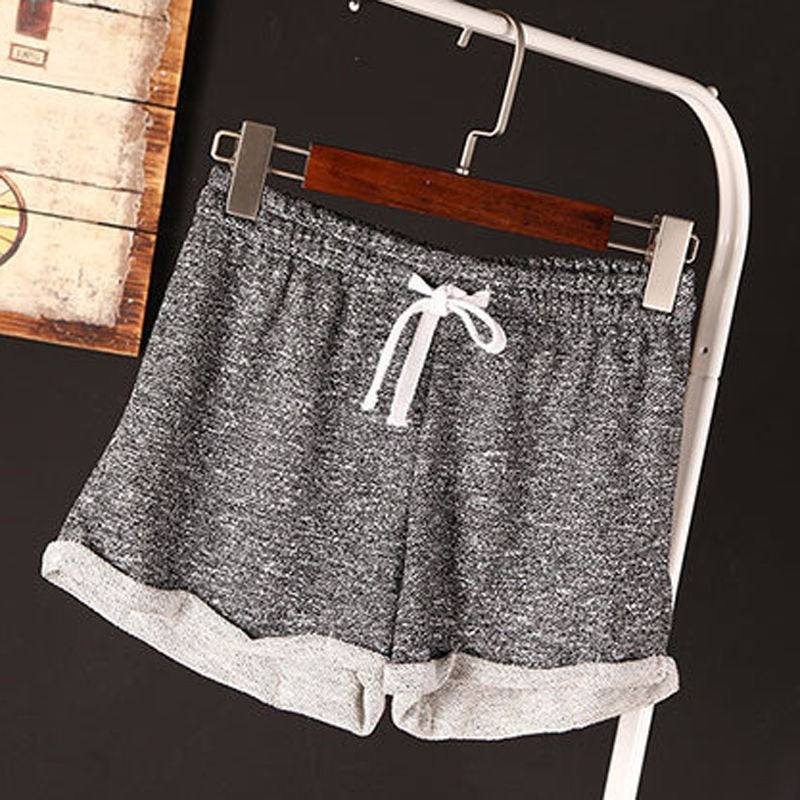 European Style Women Shorts Causal Cotton Sexy Home Short Women'S Fitness Shorts - Sheseelady