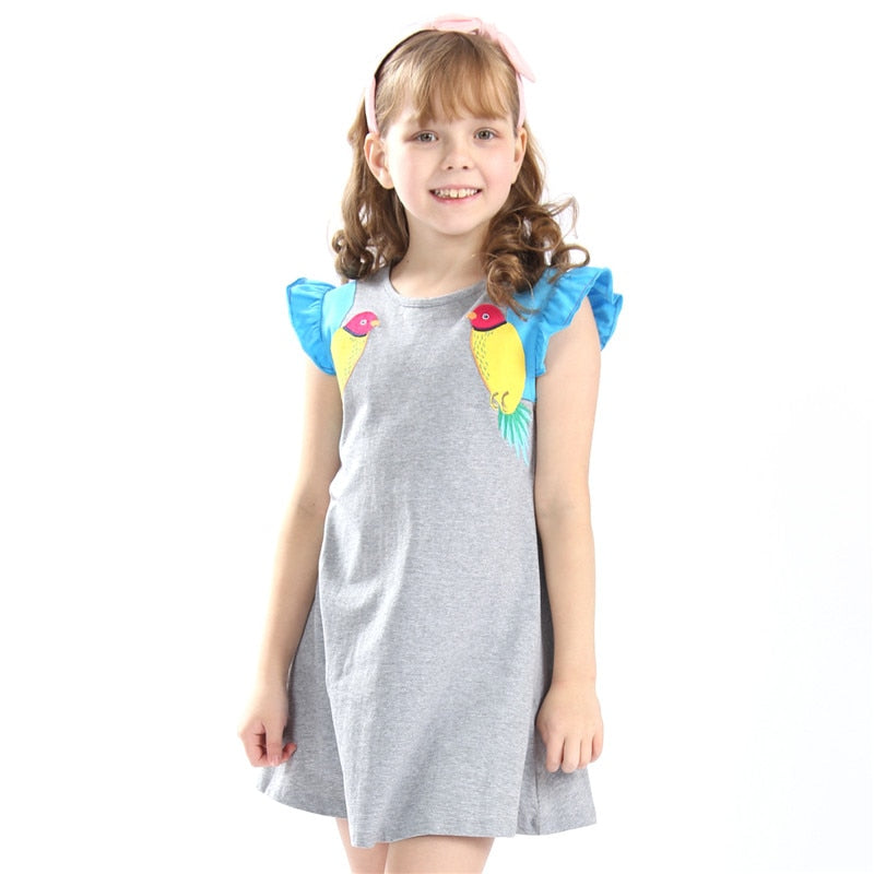 Baby Girls Summer Embroidery Dresses - Sheseelady