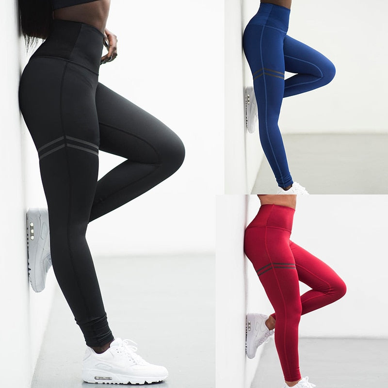 Activewear High Waist Fitness Leggings Women Pants - Sheseelady