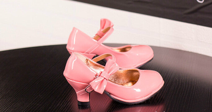 High Heels Princess Sweet Bowie Sandals For Girls