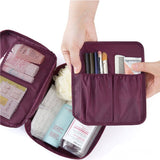 Nylon Casual Style Soft Look Makeup Pouch For Women Fashion