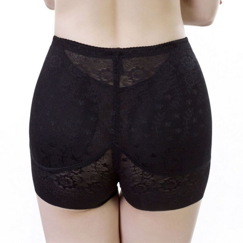 Middle Waist Underwear Abundant Buttocks Padded Seamless Butt Lift Lingerie