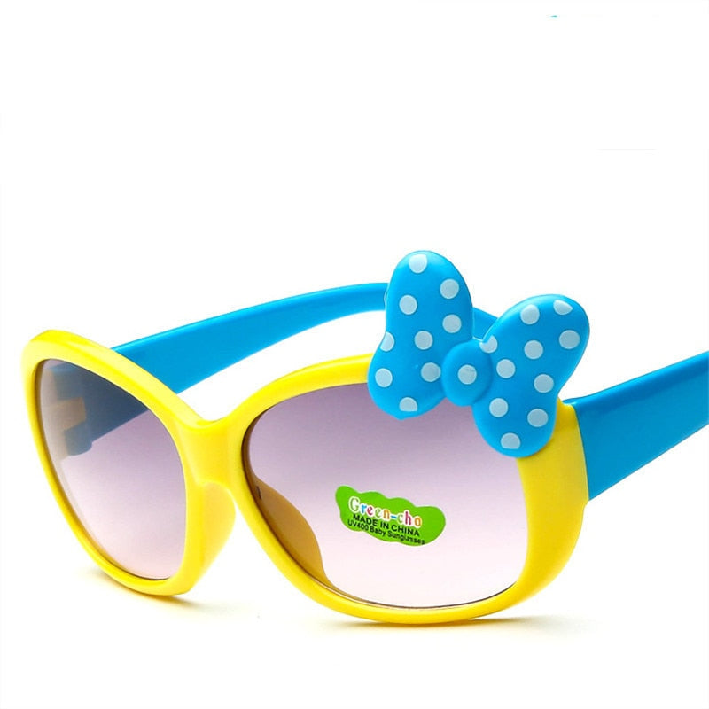 Children Goggle Girls Alloy Sunglasses Hot Fashion Boys Girls Baby Child Classic Retro Cute Sun Glasses Uv400 - Sheseelady