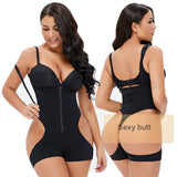 Body Shapewear Butt Lifter Sexy Thong Bodysuit Tummy-Control Strapless Panties
