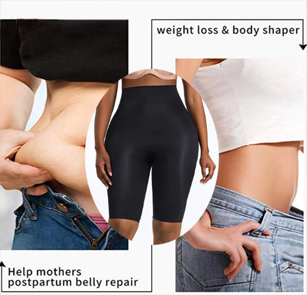 Womens Butt Lifter Tummy Control High Hip Padded Panty Body Thigh Slimmer Shapewear