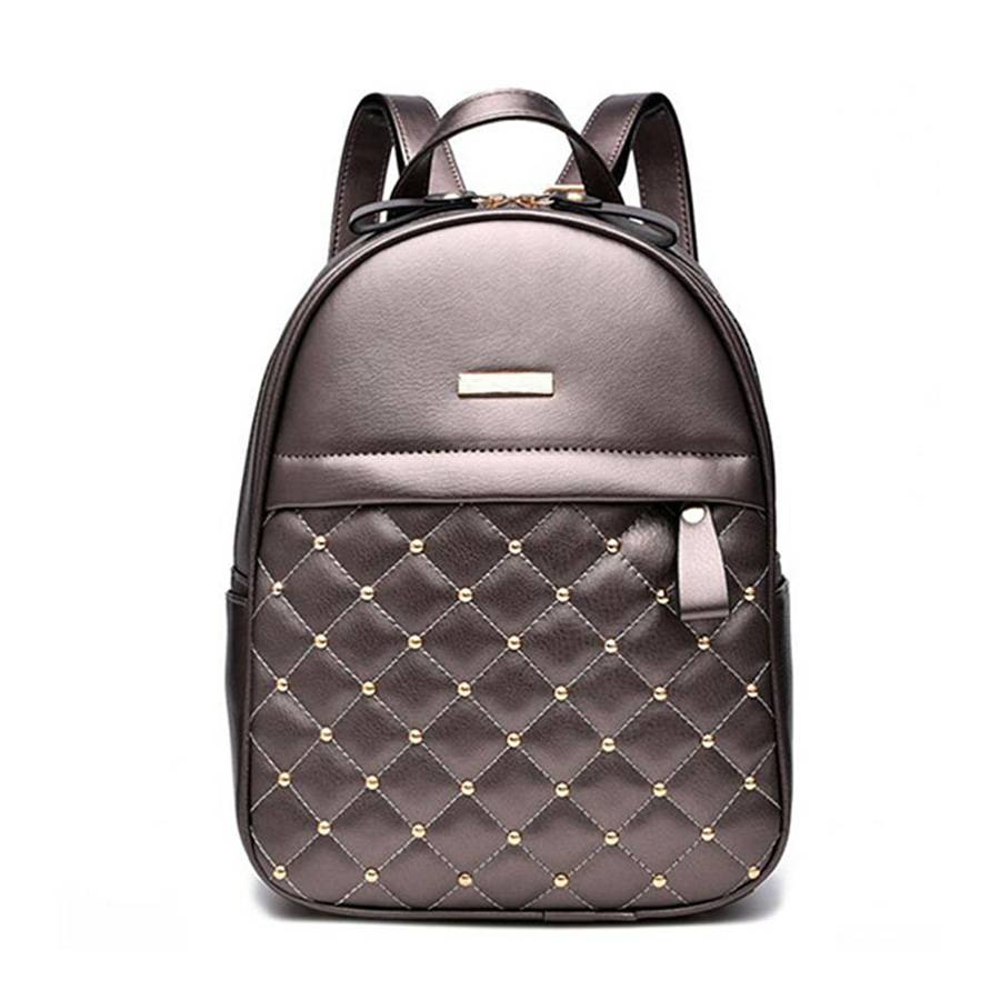 New Trend Pu Causal Backpack