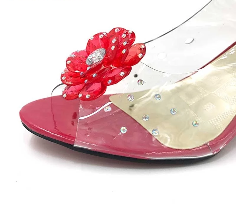 High Heels Casual Jelly Woman Sandals