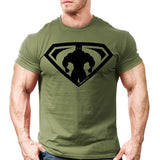 "New Men""S Gyms T-Shirt Crossfit Fitness Bodybuilding Shirts"