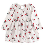 Princess Soft Cotton Long Sleeve Dress For Kids