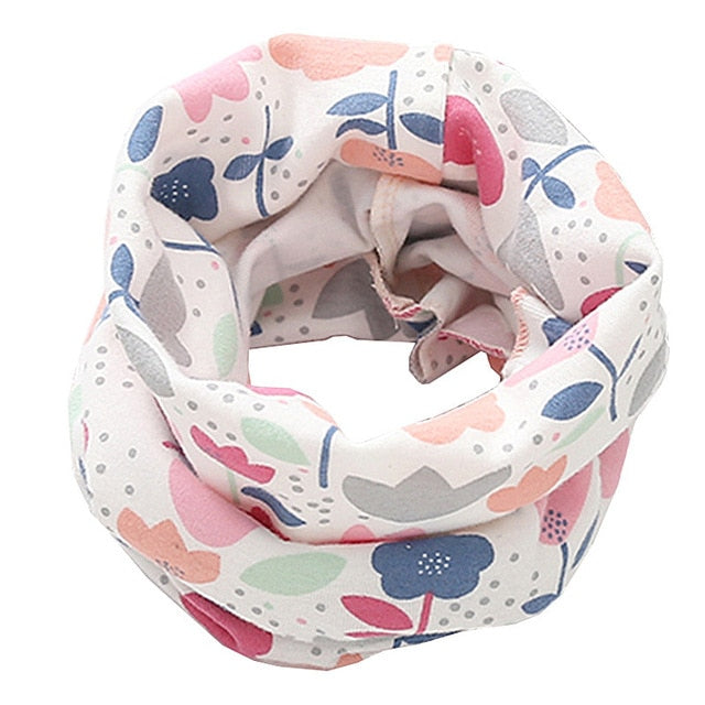 Cotton Kids Winter Scarf For Boys Girls - Sheseelady