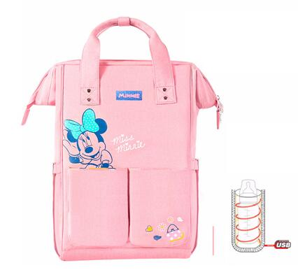 Baby Diaper Backpack Usb Bottle Insulation Bags - Sheseelady