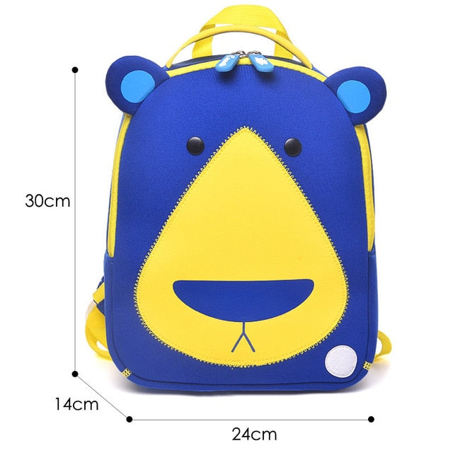 3D Elephant Design Student School Bags For Girls Boy - Sheseelady