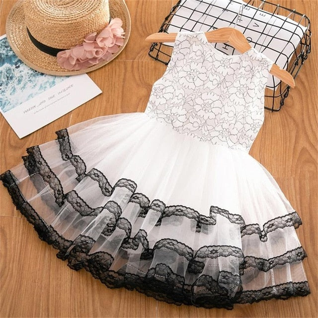 Casual Cute Wear Flower Princess Dress For Girl - Sheseelady
