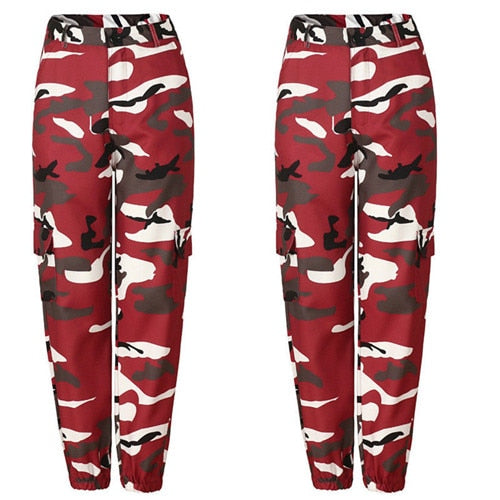 Military Army Combat Camouflage Jeans