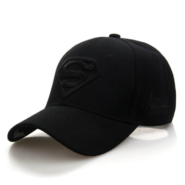 Letter Superman Casual Outdoor Baseball Caps For Men