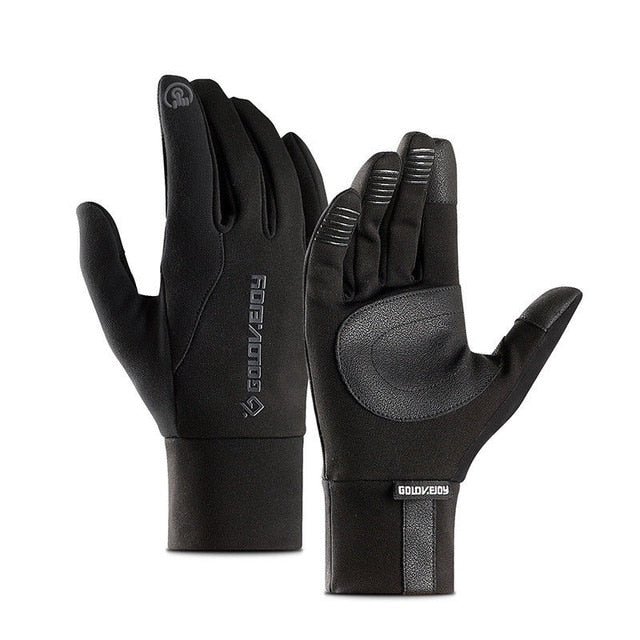 Touch Screen Unisex Leather Gloves