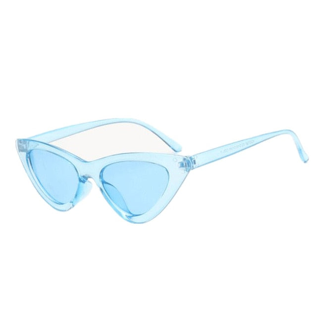 New Fashion Cute Sexy Ladies Cat Eye Sunglasses Women Vintage Brand Small Sun Glasses Female Oculos De Sol Uv400