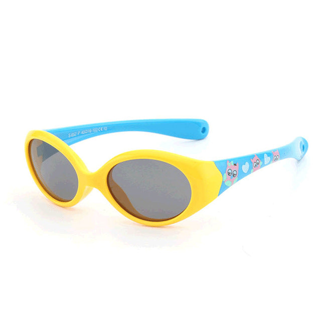 Little Kids Polarized Sunglasses With Rope