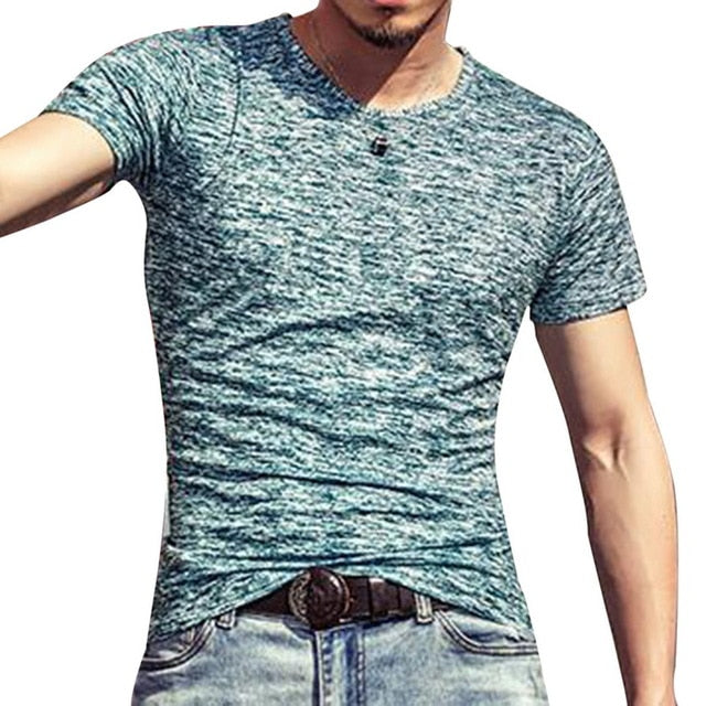Sports Running Top Tees Short Sleeve O Neck T-Shirt