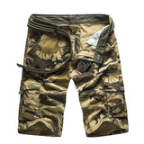 Camouflage Camo Cargo Shorts Men 2019 New Mens Casual Shorts Male Loose Work Shorts Man Military Short Pants Plus Size 29-44 - Sheseelady