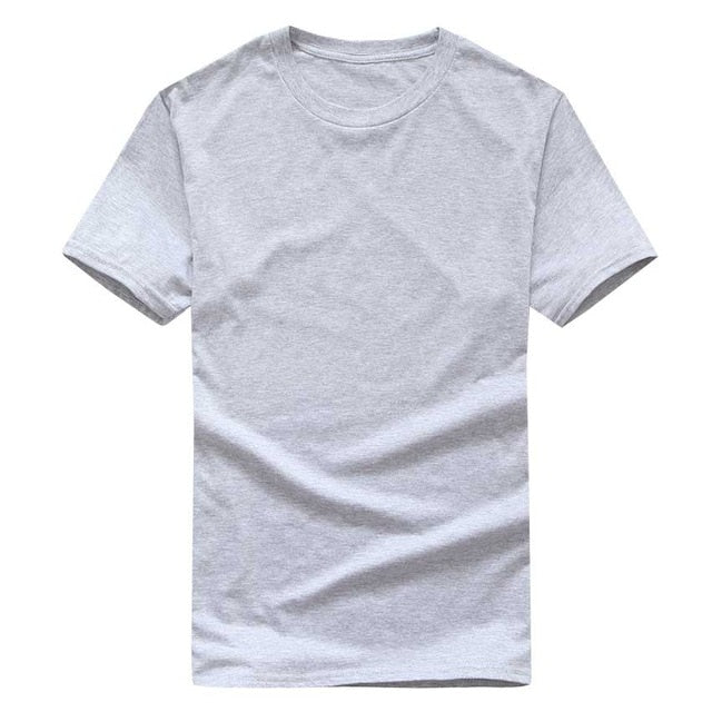 Men'S Black And White 100% Cotton T-Shirts