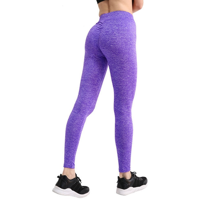 Casual Push Up Leggings Breathable Slim - Sheseelady