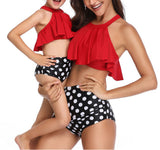 Matching Family Bathing Suits Mother & Girl Bikini Set