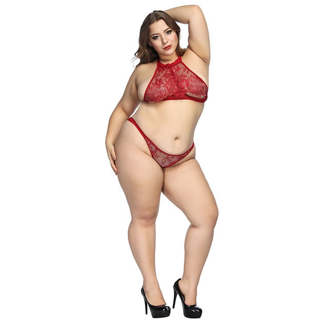 Lingerie Set Transparent Wireless Set Sexy Bra And Panty - Sheseelady