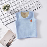Toddler Baby Fleece Sleeveless Vest For Boy Girl