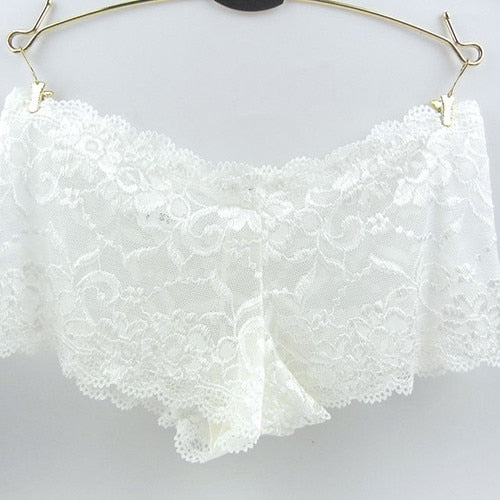 Underwear Women Sexy Lace Plus Size Transparent Seamless Womens Panties Female Underwear Underpants Woman Panties Briefs Panty