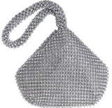 Fully Diamonds Cover Polyester Zipper Bag For New Year Gift - Sheseelady