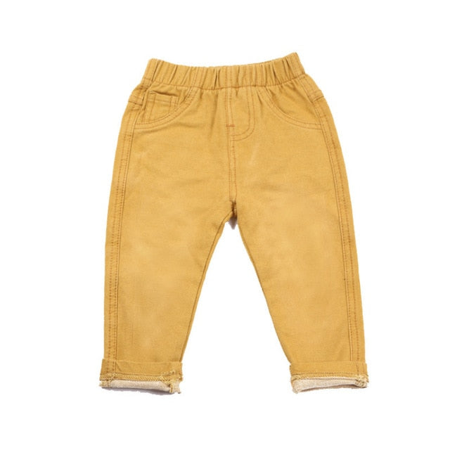 4 Colors Denim Pants And Cotton Trousers For Unisex Kids - Sheseelady