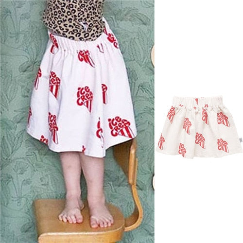 Cherry Pattern T Shirt And Tops For Baby Girls - Sheseelady