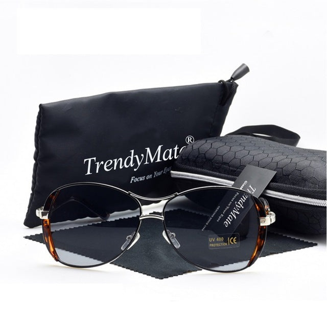 High Quality Women Sunglasses Vintage With Box-Sheseelady