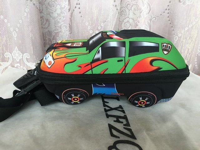 3D Car Children School Bags For Boys - Sheseelady