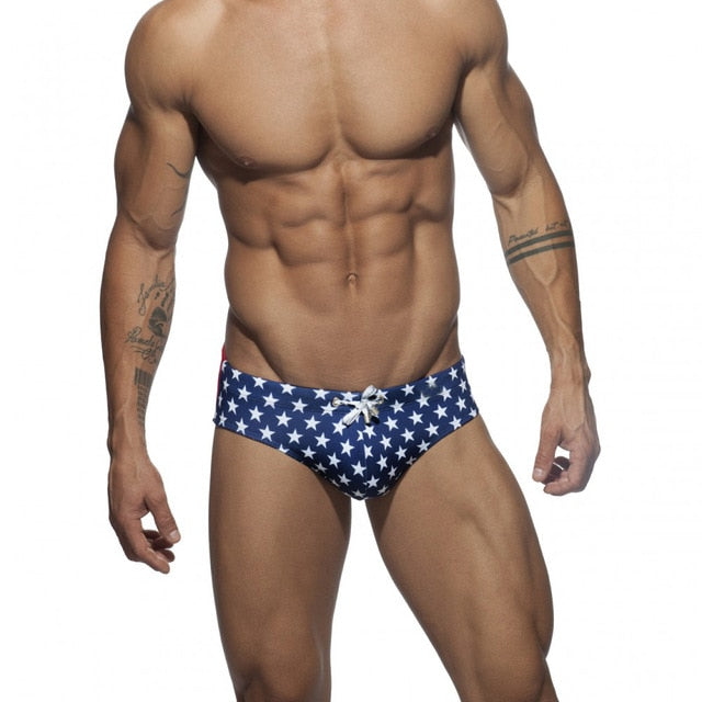 Briefs Star Low-Waist Sexy Man'E Swimwear - Sheseelady