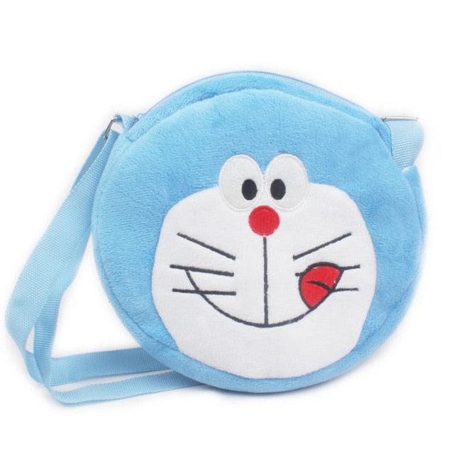 Cartoon Hello Kitty Plush Backpack School Bags For Girls Boys - Sheseelady