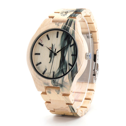 Maple Wooden Watch