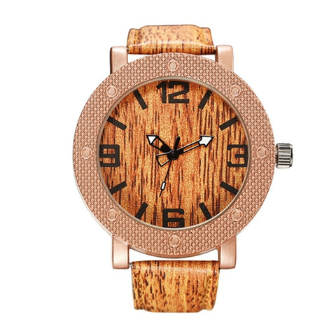 Casual Wooden Wrist Watch