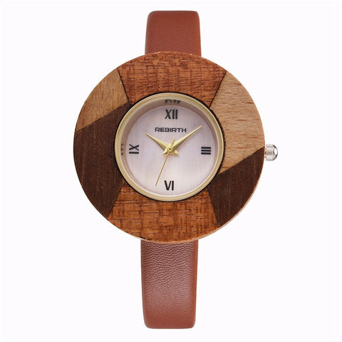 Genuine Wooden Wristwatch