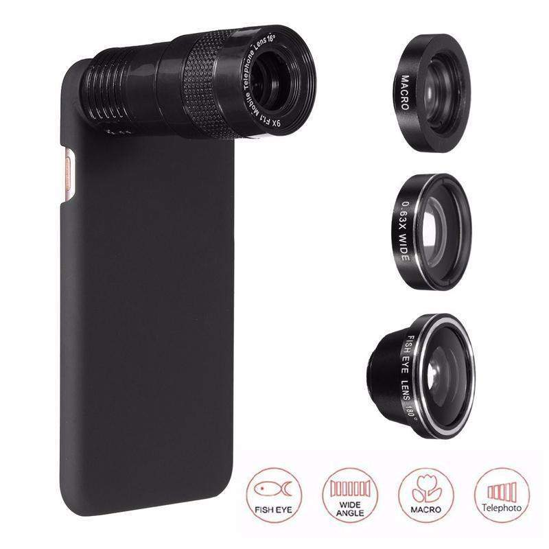 5 In 1 Camera Lens iPhone 7 / iPhone 7 Plus-phone case-DinoStreet-DinoStreet