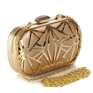 Gold Crystal Evening Bags