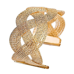 Hot Elegant Hollow Bangle Bracelets