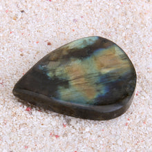 Natural Rainbow Labradorite Crystal Drop