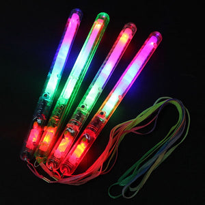 Multicolor Light-Up Blinking Rave Stick LED Flashing Strobe Wands